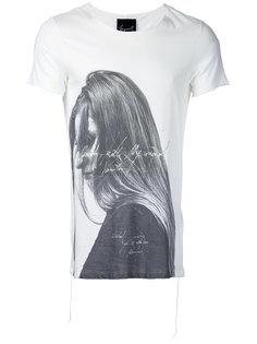 футболка с принтом Victoria  Fagassent