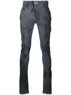 брюки скинни без талии  Fagassent