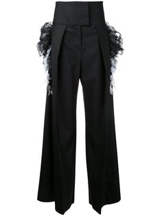 широкие брюки с завышенной талией Preen By Thornton Bregazzi