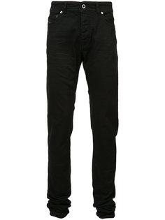 присборенные снизу джинсы Diesel Black Gold