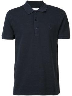 рубашка-поло с вышитым логотипом Versace Collection