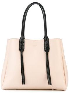 сумка-тоут с кисточками Lanvin