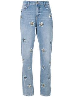 джинсы со звездами Zoe Karssen