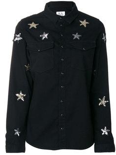 рубашка со звездами из пайеток Zoe Karssen