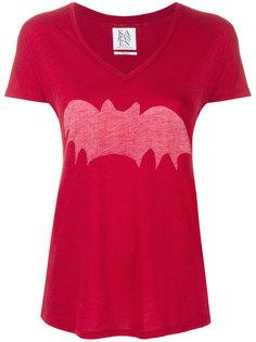 футболка с летучей мышью Zoe Karssen