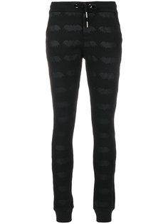 брюки с вышивкой  Zoe Karssen