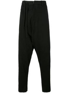 брюки с заниженной проймой A New Cross