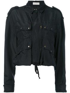 укороченная куртка с накладными карманами Faith Connexion