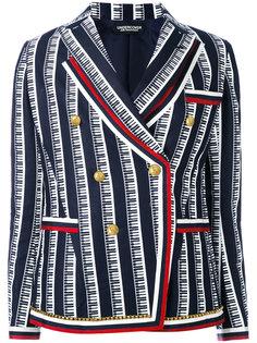 двубортный пиджак Undercover