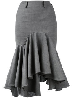 юбка с неравномерным подолом Facetasm