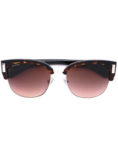 солнцезащитные очки с прямоугольной оправой Bulgari