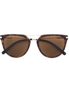 """солнцезащитные очки с оправой """"кошачий глаз"""" Bulgari"""