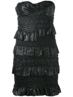 платье без бретелек  Drome