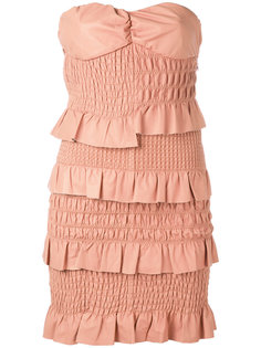 платье с оборками  Drome