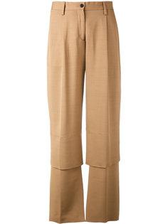 брюки с панельным дизайном Aalto