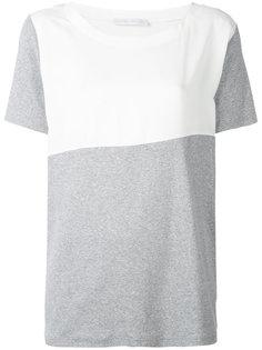 футболка с контрастными панелями Fabiana Filippi