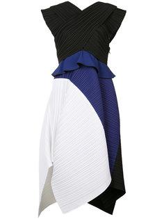 """платье дизайна """"колор-блок"""" Proenza Schouler"""