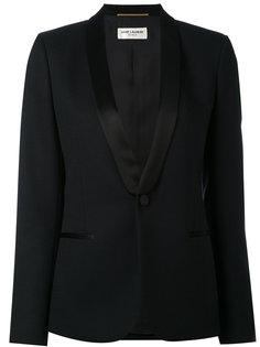 пиджак с лацканами-шалькой Saint Laurent