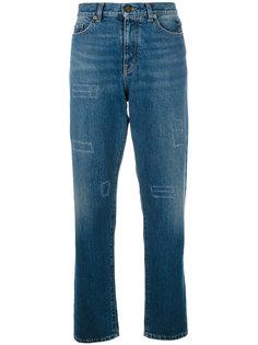 джинсы прямого кроя с завышенной талией Saint Laurent