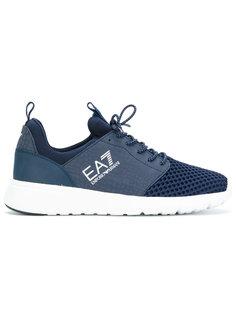 кроссовки с эластичными вставками Ea7 Emporio Armani