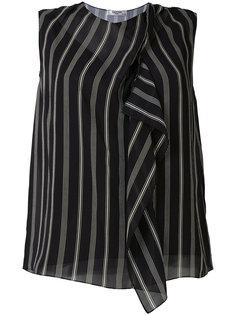 полосатая блузка Lanvin