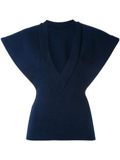 блузка структурированного кроя Jacquemus