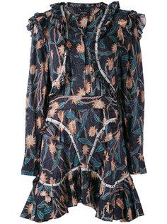 платье с принтом Ullo Isabel Marant