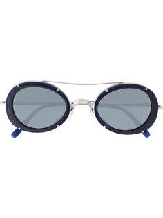 солнцезащитные очки с круглой оправой Matsuda