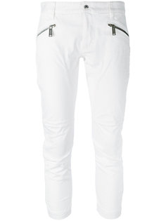 брюки с молниями Dsquared2