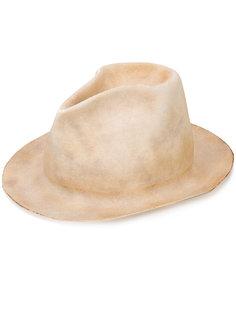 шляпа с эффектом обгорелости Horisaki Design & Handel