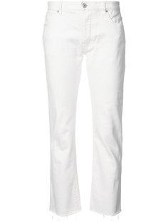 потертые укороченные джинсы Nili Lotan