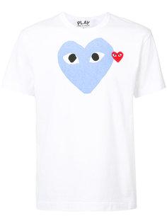 футболка с изображением сердца Comme Des Garçons Play
