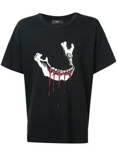 футболка с изображением окровавленной челюсти Amiri