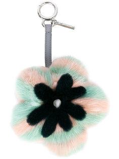 подвеска с помпоном в виде цветка Fendi