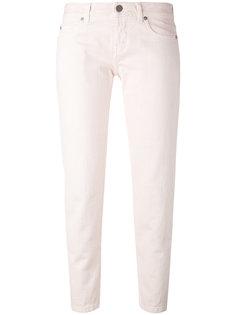 укороченные облегающие джинсы Aspesi