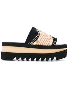 сандалии с плетеным верхом Stella McCartney