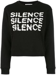 толстовка Silence McQ Alexander McQueen