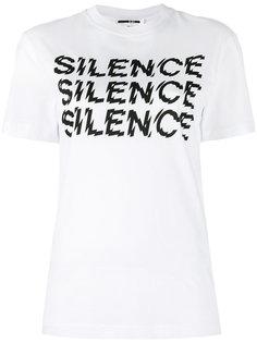 футболка Silence McQ Alexander McQueen