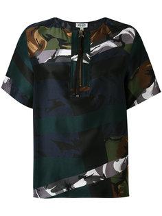 блузка с застежкой-молнией Kenzo