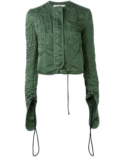 куртка с присборенными рукавами JW Anderson
