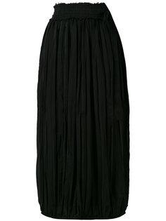 плиссированная юбка миди JW Anderson