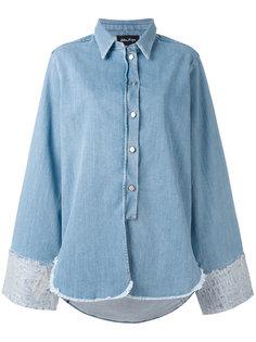джинсовая рубашка свободного кроя Andrea Yaaqov