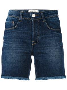 джинсовые шорты с необработанными краями Each X Other