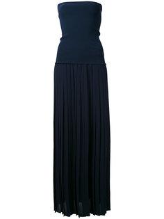 приталенное платье шифт без бретелек  Antonio Marras