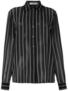 полосатая рубашка Lanvin