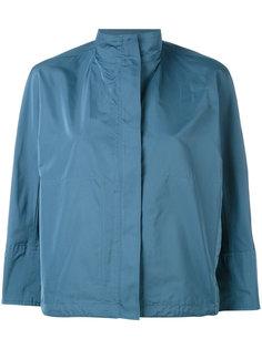 укороченная куртка с высокой горловиной Jil Sander
