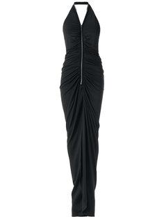 long halterneck gown Tufi Duek
