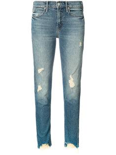 рваные джинсы Mother