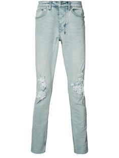 рваные джинсы скинни Ksubi
