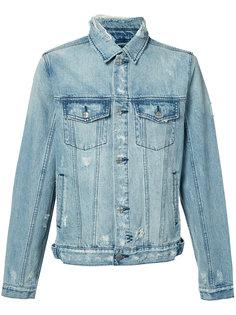 выбеленная джинсовая куртка  Ksubi